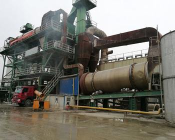 Thermal Oil Boiler In Bituminous Mixing Plant